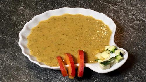 Zucchini-Aprikosen-Suppe